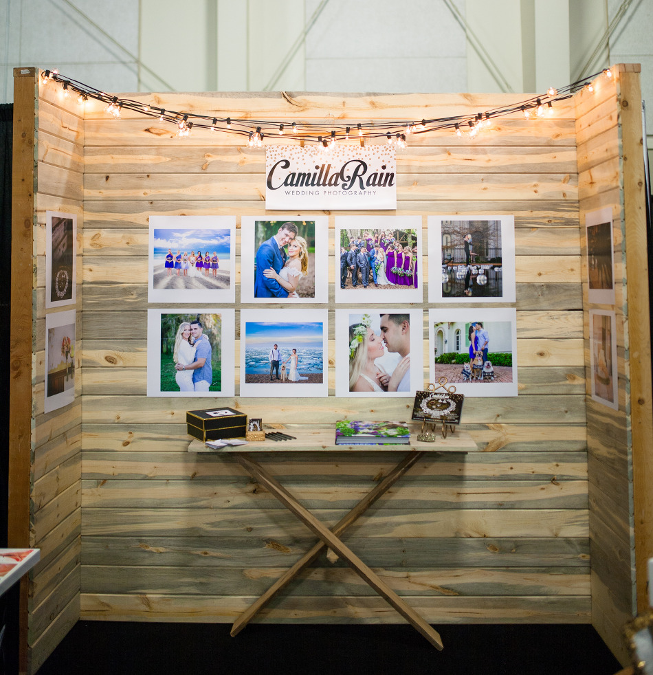 ideas for wedding pictures in the rain - Wedding grapher Booth Ideas for Bridal Show